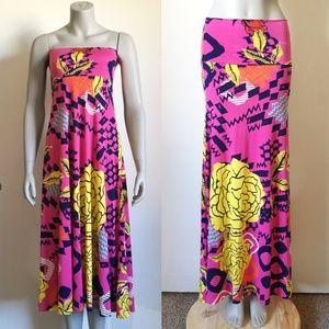 Lularoe Maxi Printed Skirt or Dress Size XXS